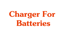 Charger For Batteries